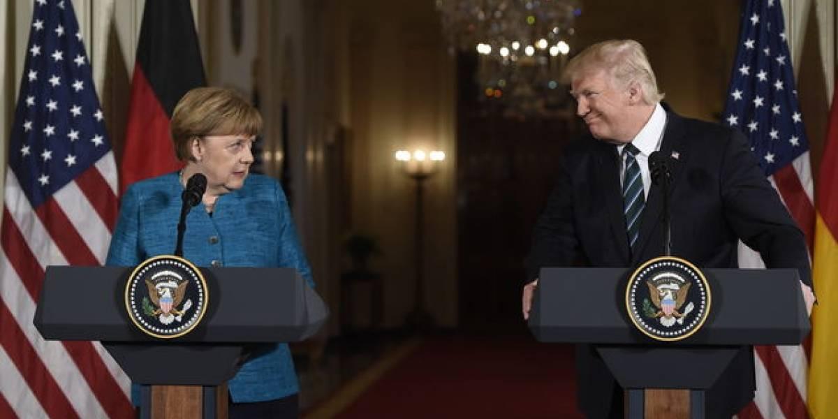 Donald Trump dispara contra Alemania por Twitter y suma un nuevo roce con Angela Merkel