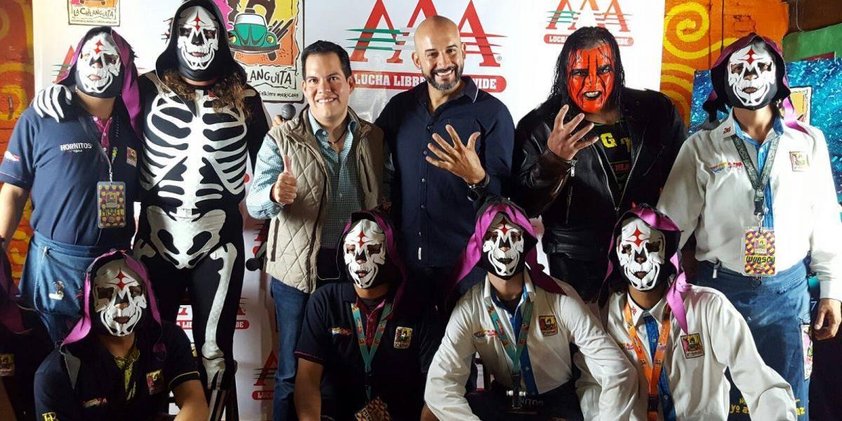 ¡Siguen los festejos! Triple A presenta alianza con restaurante mexicano rumbo a Triplemanía XXV