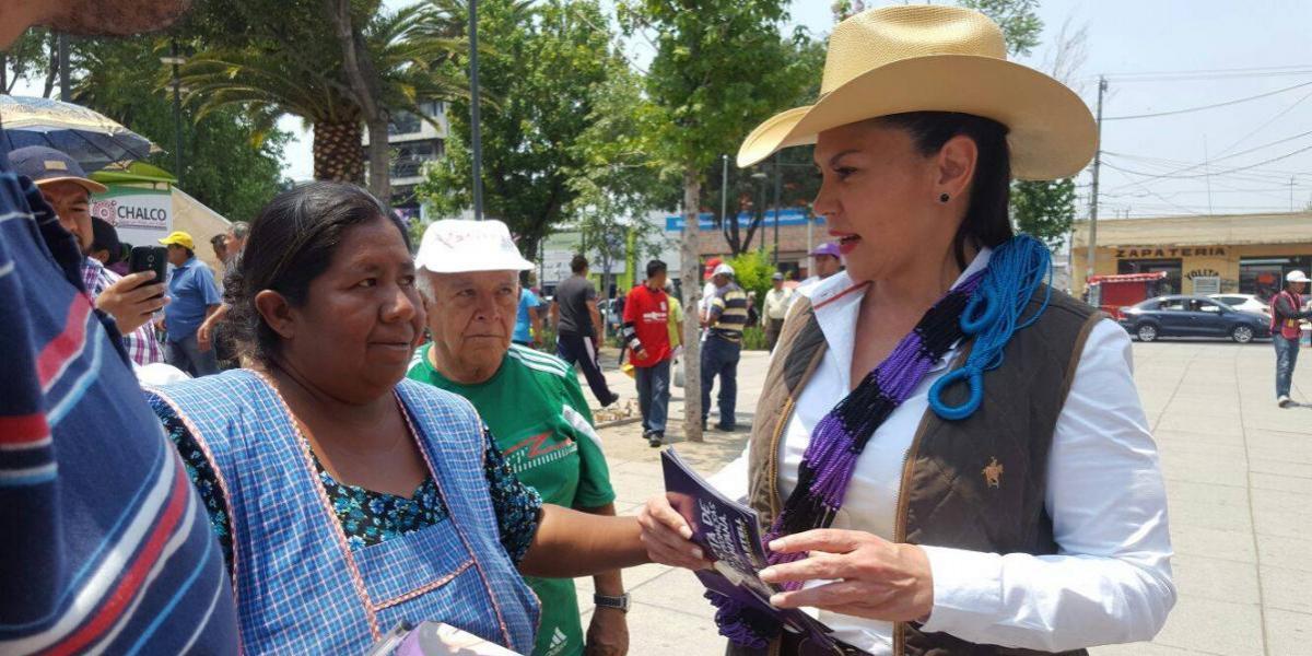 Teresa Castell interpondrá queja ante IEEM por agresiones de militantes de Morena