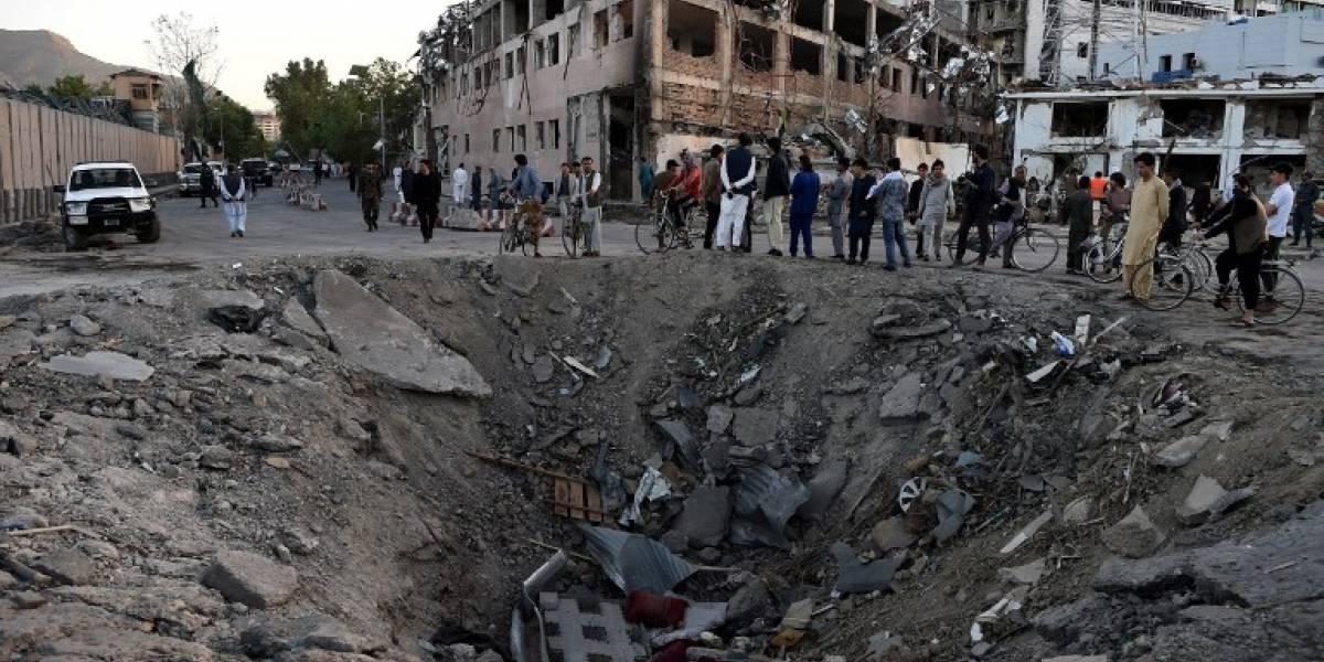 Las impactantes imágenes de la explosión en Kabul