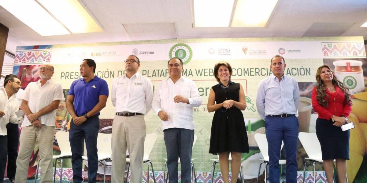 Astudillo lanza plataforma para impulsar venta de productos mexicanos
