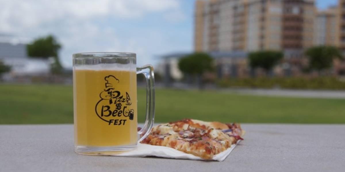 Regresa el festival de pizzas y cervezas