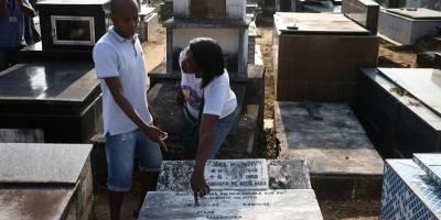 Desaparece de su tumba el cuerpo de Garrincha