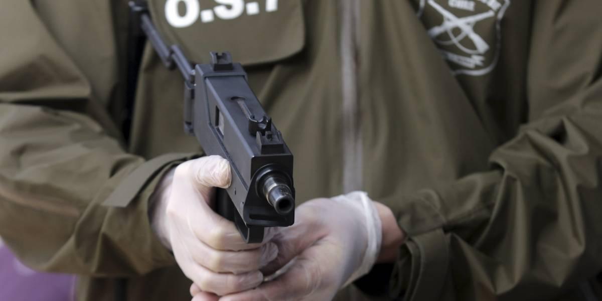 Carabineros suspende a funcionarios por extravío de armas