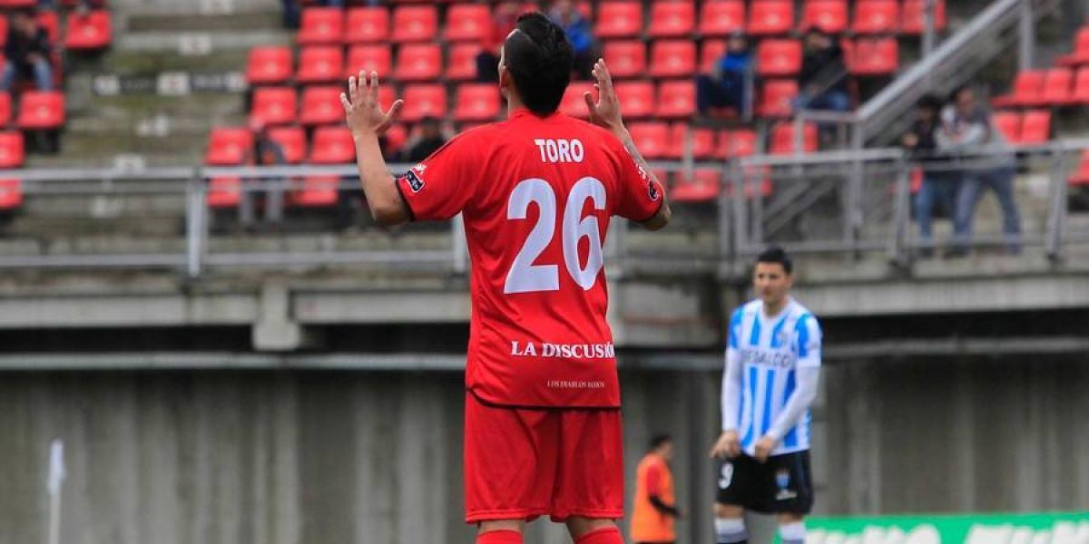 Sebastián Toro vuelve al fútbol chileno para reforzar a Palestino