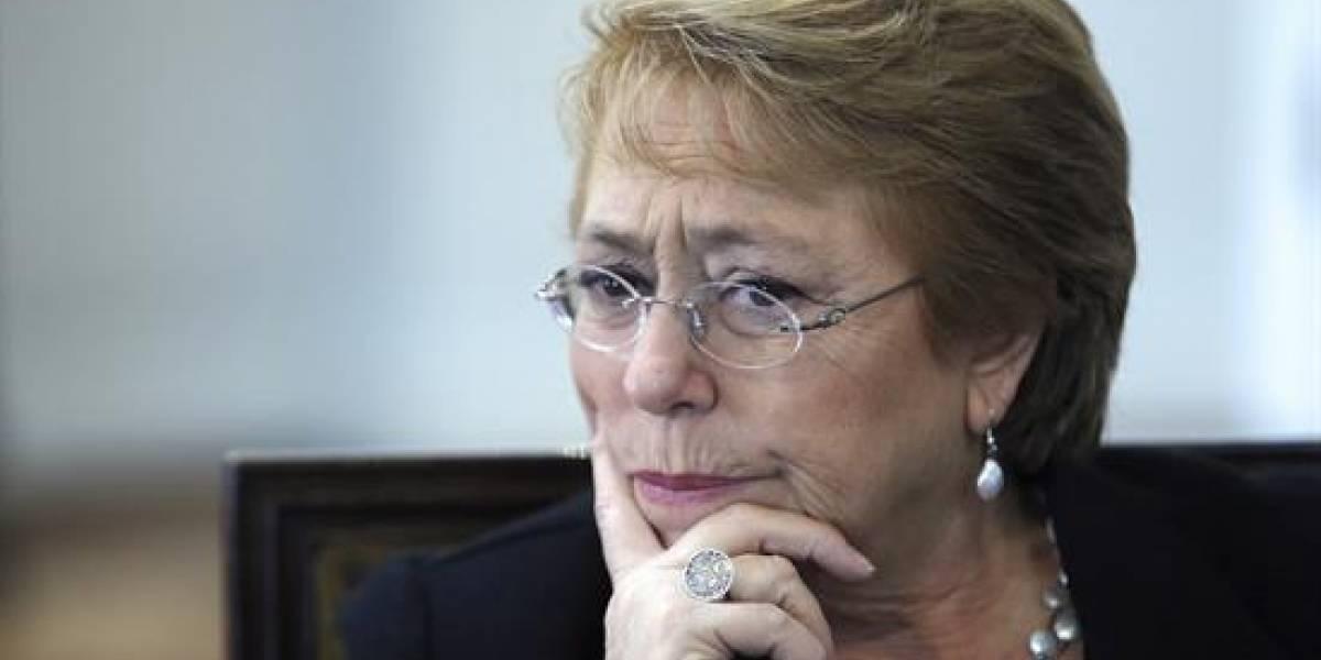 """Bachelet: """"Chile siempre apuesta por el diálogo"""" con Bolivia"""