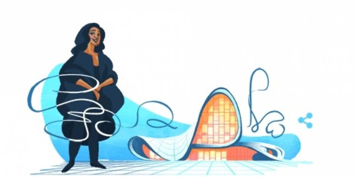 Zaha Hadid recibe un emotivo homenaje de Google a un año de su muerte