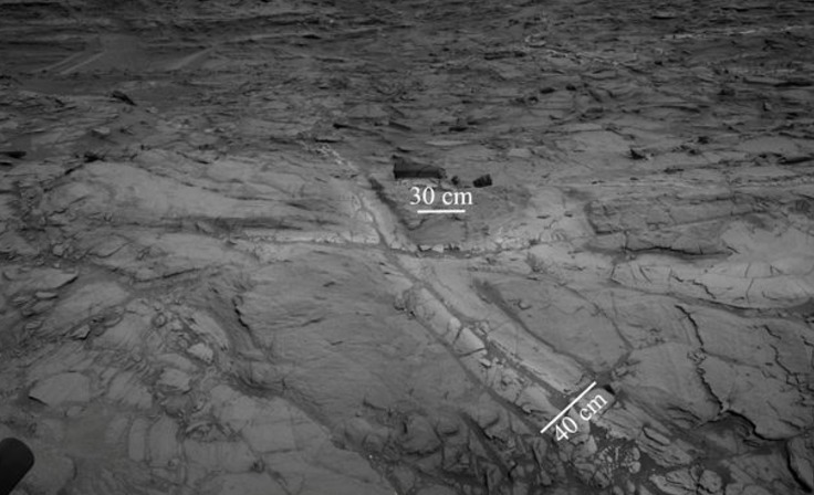 NASA revela lago en Marte a traves del Curiosity