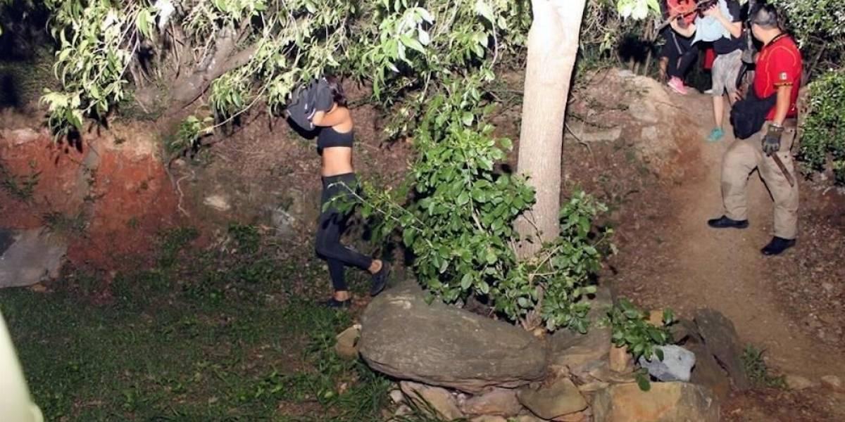 Rescatan a cinco adolescentes perdidos en Cerro El Chupón, en Monterrey