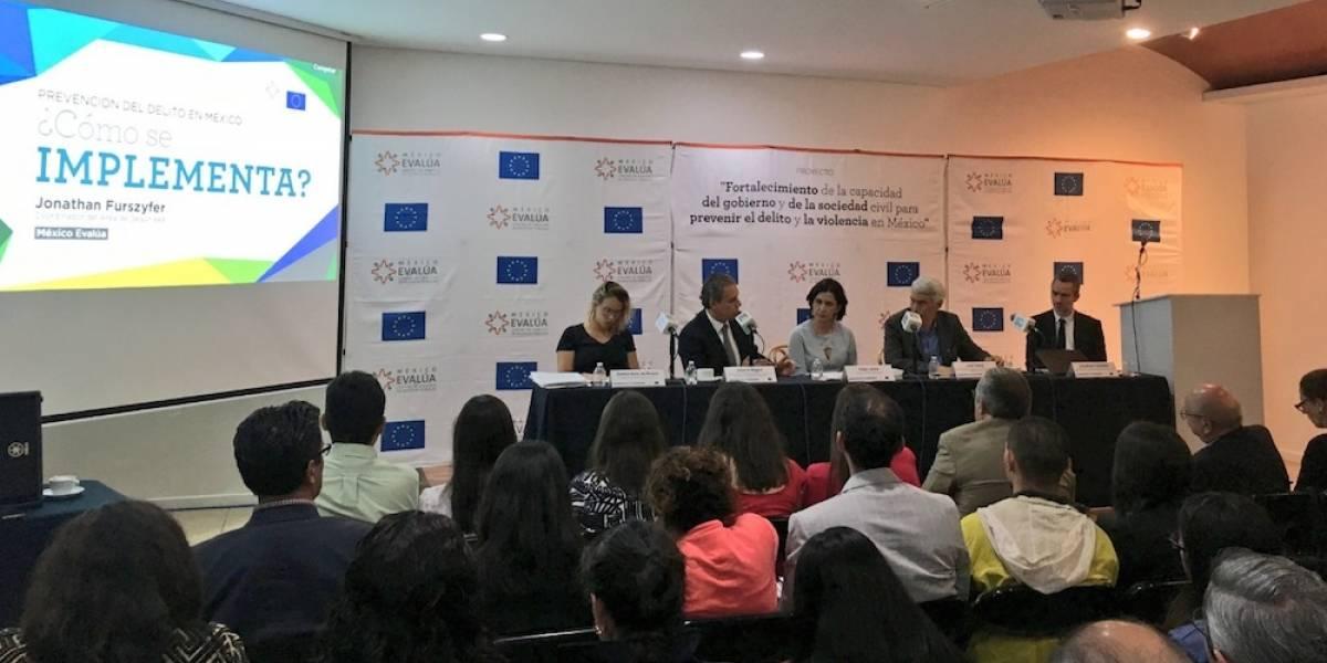 México Evalúa presenta programas de prevención de violencia y delitos en el país