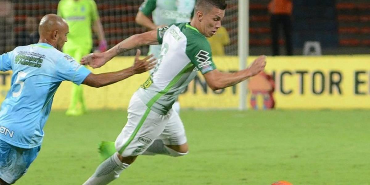 Cuartos de final de Liga Águila 1-2017: Jaguares 1-3 Nacional