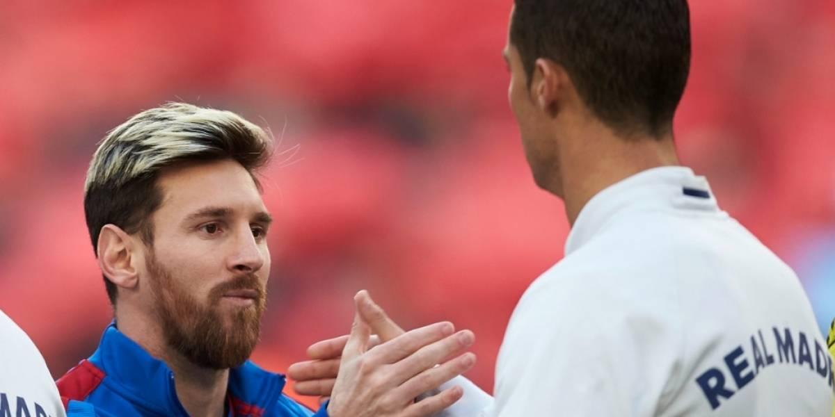 """""""Me gusta ver jugar a Messi, me gustan todos los buenos jugadores"""": Cristiano"""