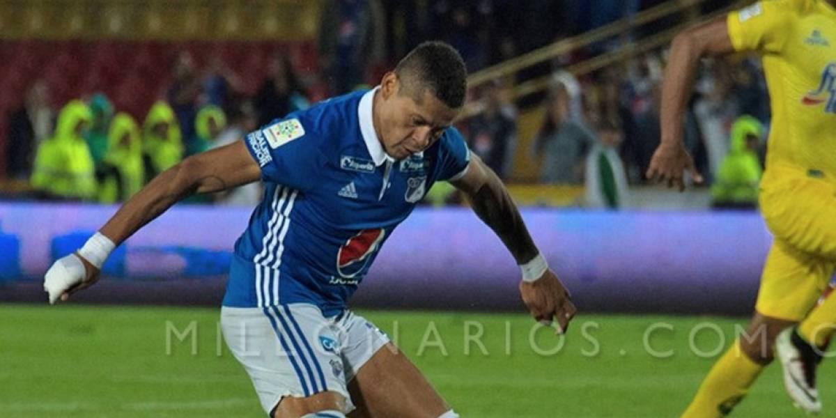 Bucaramanga y Millonarios empataron 2 por 2 en un emocionante partido