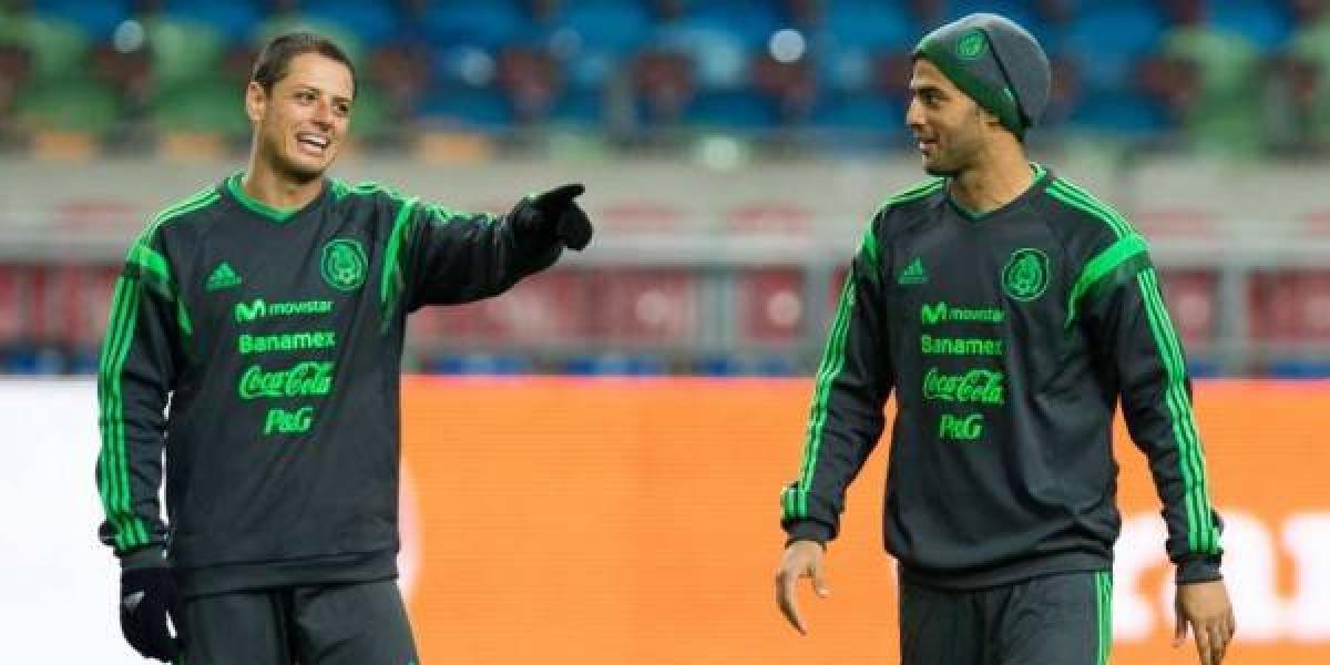 Carlos Vela y Chicharito, cerca de jugar en el mismo equipo