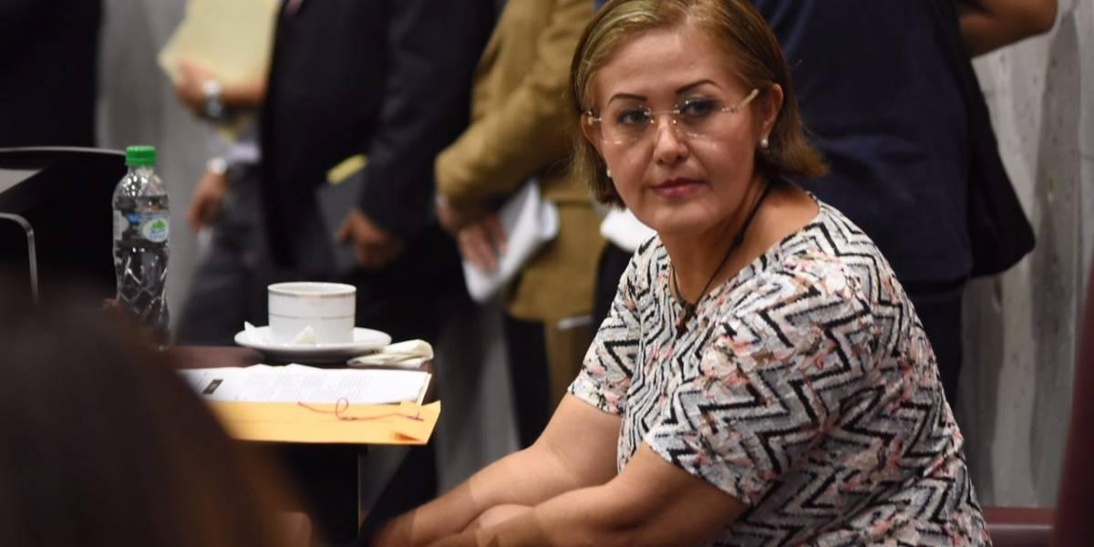 San Lázaro desecha proceso de desafuero contra Eva Cadena