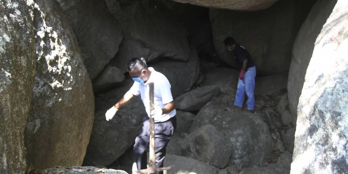 Hallan cadáver de una mujer en cueva de Tláhuac