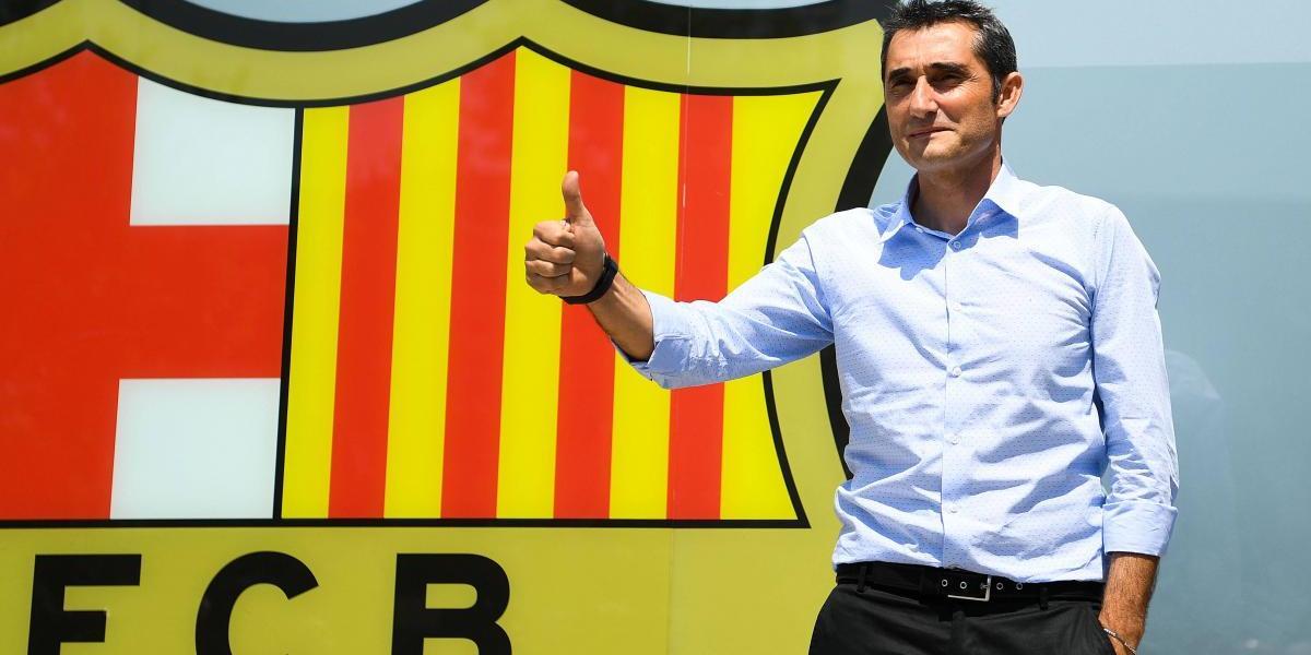 """""""Que la gente disfrute y el equipo se comprometa"""", pide el nuevo DT del Barcelona"""