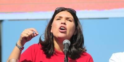 Bárbara Figueroa fue reelecta presidenta de la CUT
