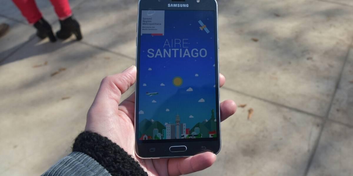 """""""Aire Santiago"""": app notificará restricción de manera personalizada de acuerdo a su número de patente"""