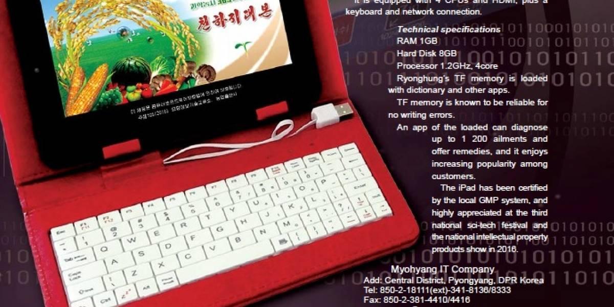 Tiembla Apple: Corea del Norte sacó una tablet y se llama iPad