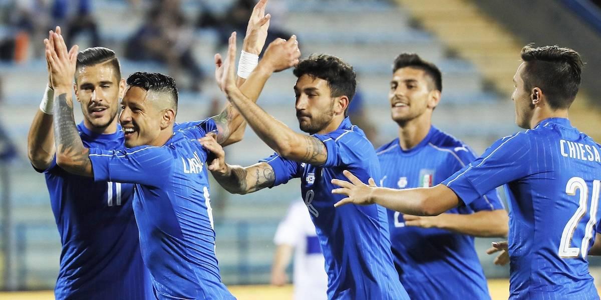 Italia no tuvo piedad de San Marino en duelo amistoso