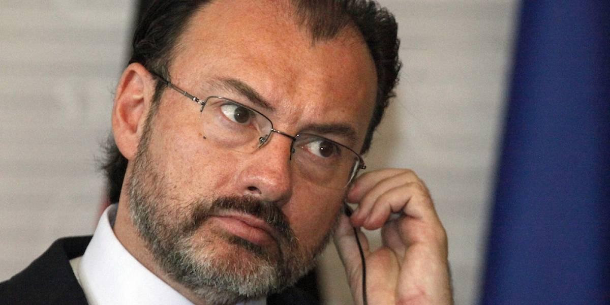 """Venezuela califica de """"inmorales e infames"""" las declaraciones de Videgaray"""