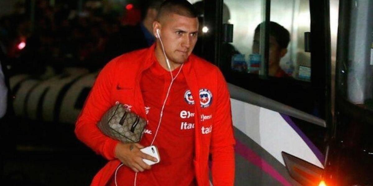 Nicolás Castillo causa baja de la selección chilena por lesión