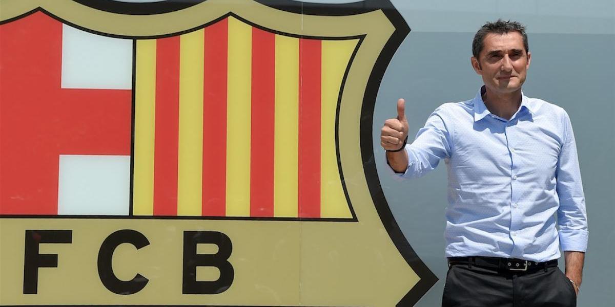 VIDEO. El nuevo DT del Barça no esperó a ser nombrado y reveló sus planes