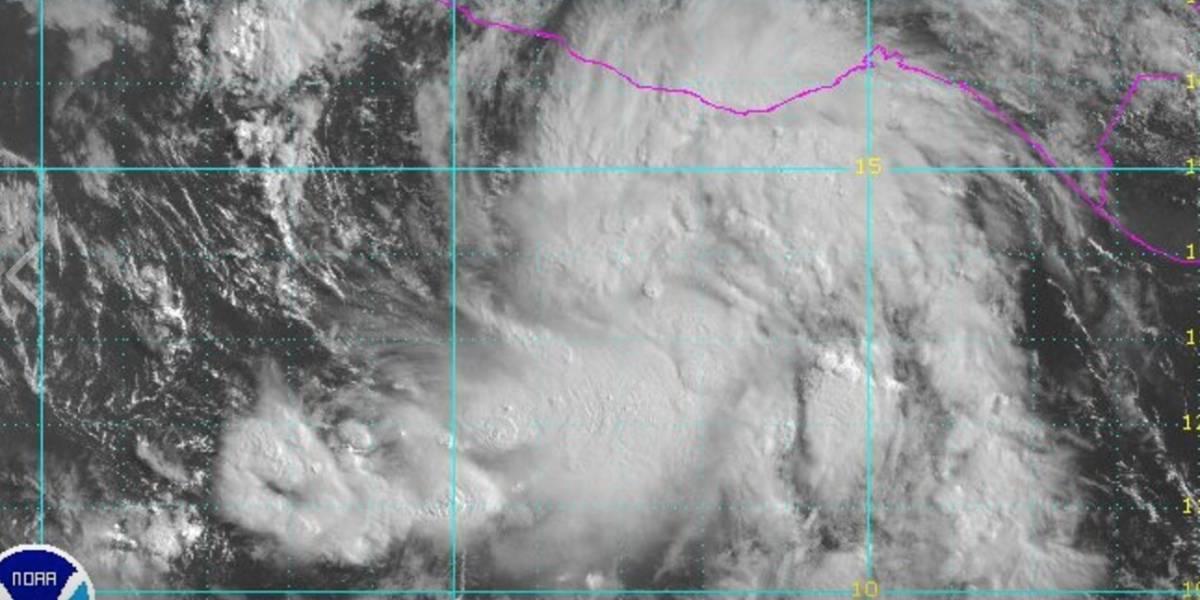 Se forma depresión tropical en el Pacífico