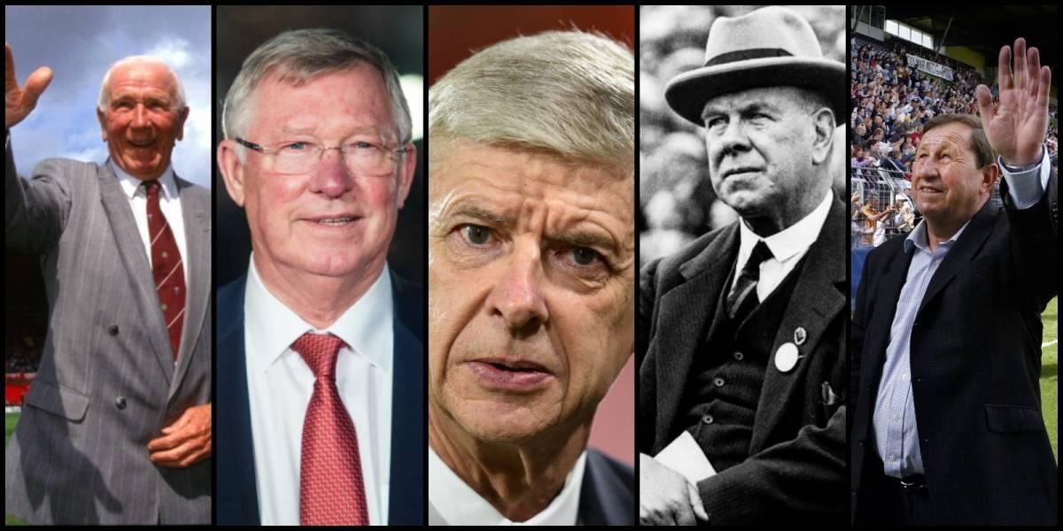 Ferguson y Wenger en la lista: los 10 técnicos con más años en un solo equipo