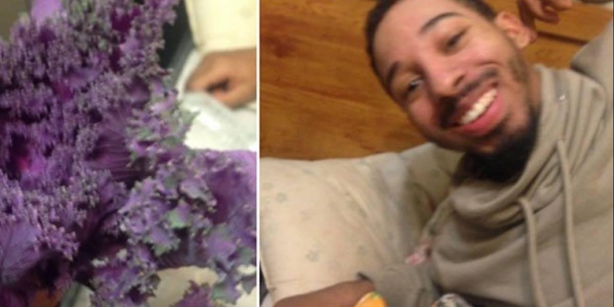 """Quiso impresionar a su novia regalándole flores y le terminó dando un """"ramo de lechugas"""""""