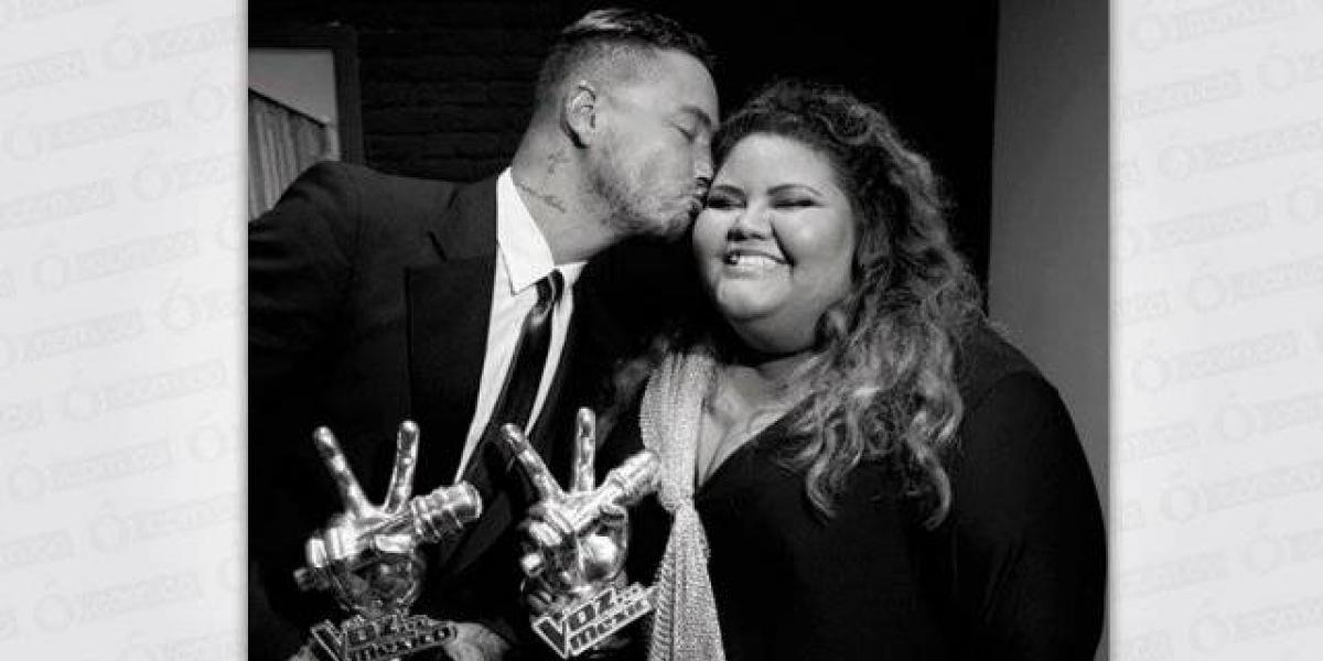 Con el apoyo de J Balvin, esta cantante mexicana ha bajado más de 50 libras