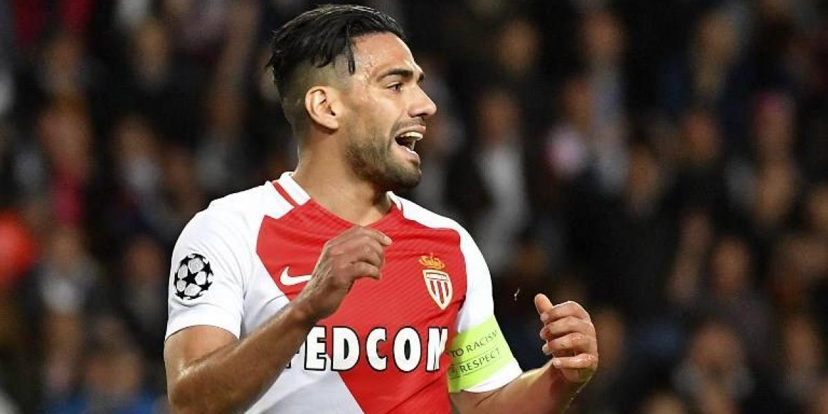 El renacido Radamel Falcao extendió su contrato con el Mónaco
