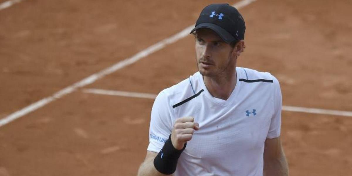 Murray ganó con dificultad y ahora enfrentará duro examen con Del Potro en Roland Garros