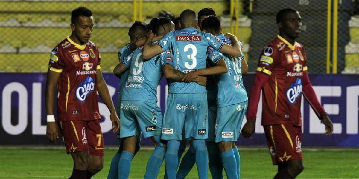 El Bolívar de Ronnie Fernández avanzó de fase en la Copa Sudamericana