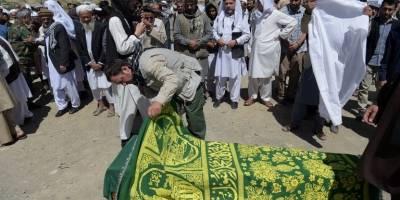 Entierran a víctimas de atentado en Kabul