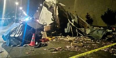 Camión cae de 15 metros dejando dos muertos en Talcahuano — Trágico accidente
