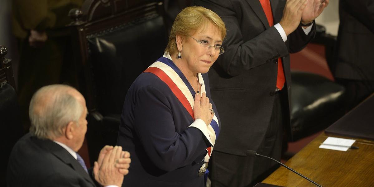 Presidenta hizo un fuerte llamado a la unidad de la centro-izquierda