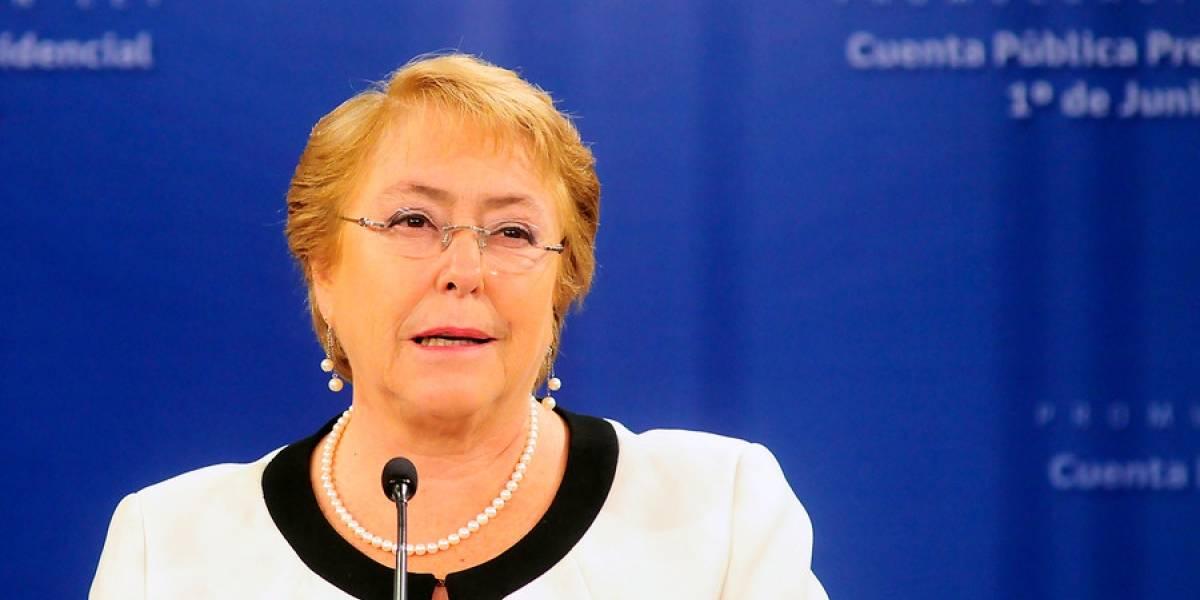 Adimark: aprobación de Bachelet llega a 31% en mayo y anota su mejor registro en los últimos dos años