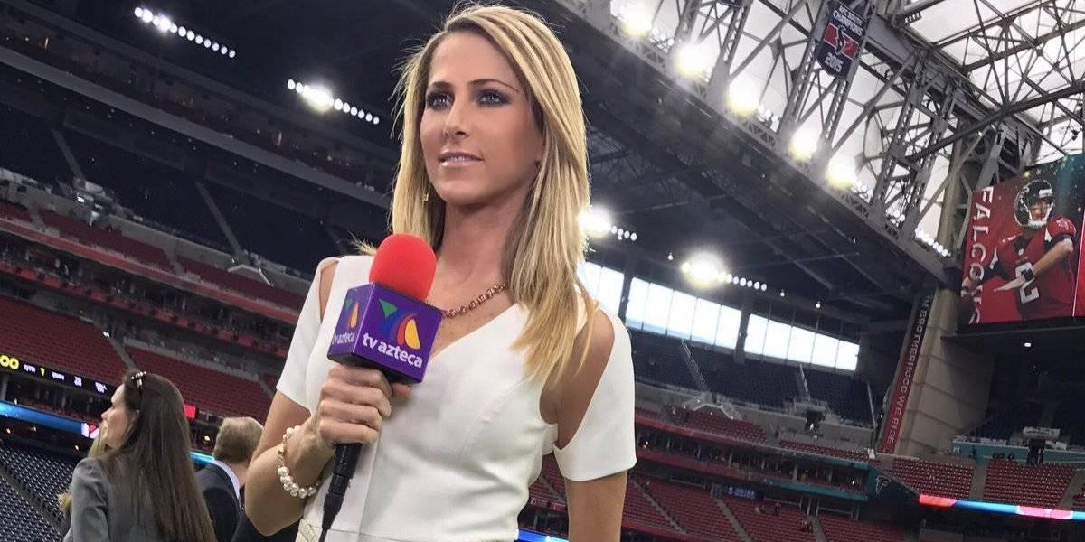 Inés Sainz va de nuevo en busca de tener equipo de futbol