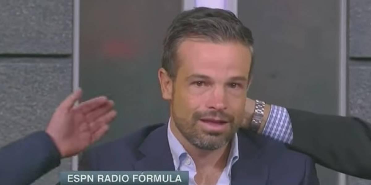 VIDEO: Rafa Puente Jr. rompe en llanto durante programa en vivo