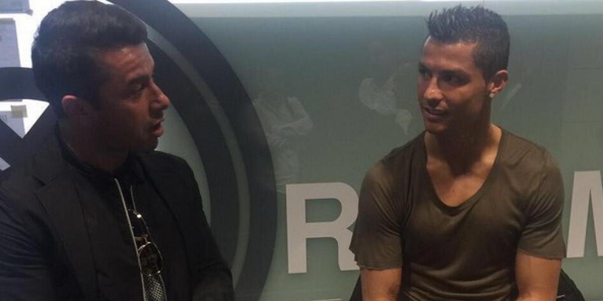 """Rodrigo Tello y su compañero Cristiano Ronaldo: """"Se acostaba a las nueve y media y se levantaba a las seis"""""""