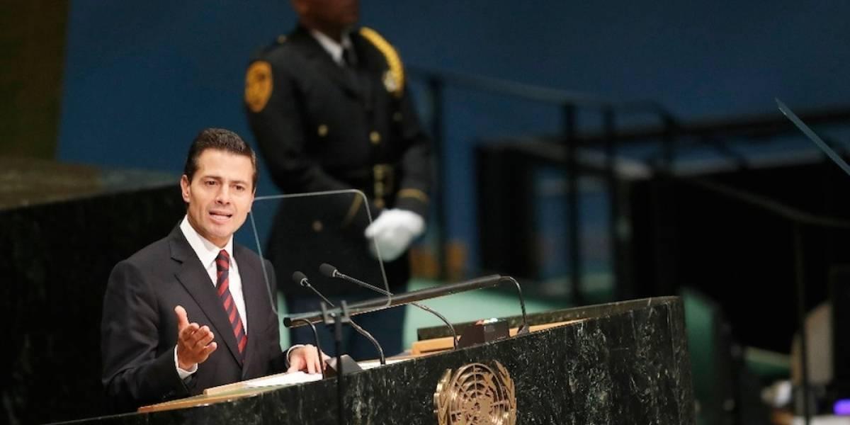 México mantiene su respaldo y compromiso con el Acuerdo de París: Peña Nieto