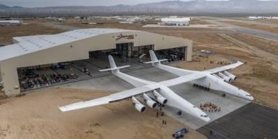 Comienza las pruebas del mayor avión jamás construido