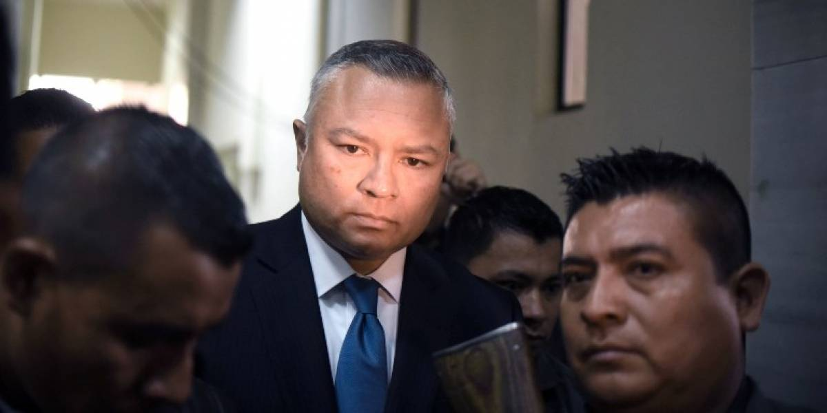 "Sindicado pide careo con Estuardo Salvador alias ""Eco"""