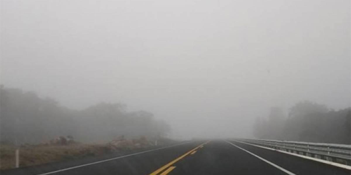 Neblina afecta carreteras México-Cuernavaca y México-Oaxtepec