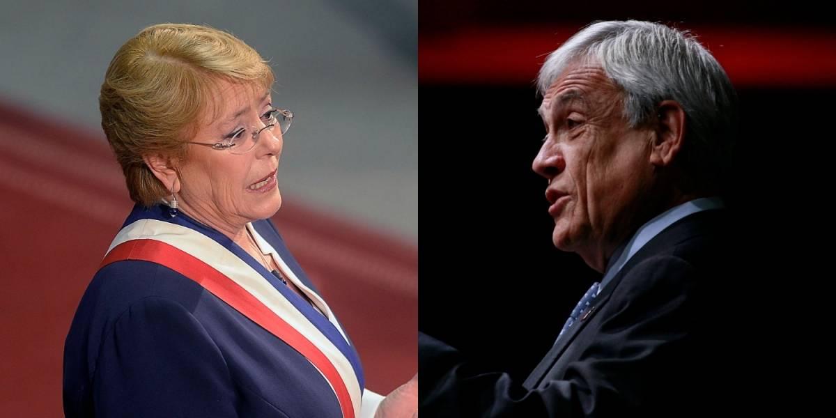 Palabras de la Presidenta Bachelet sacaron ronchas en Piñera