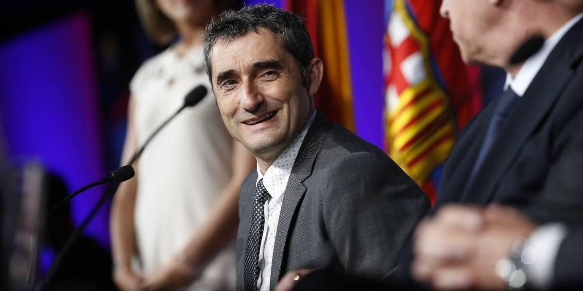 OFICIAL: Barcelona presenta a Valverde como su nuevo DT