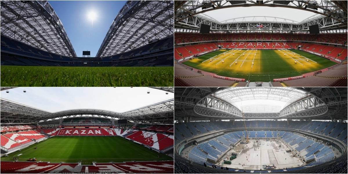 Los modernos estadios que albergarán el sueño de La Roja en la Copa Confederaciones