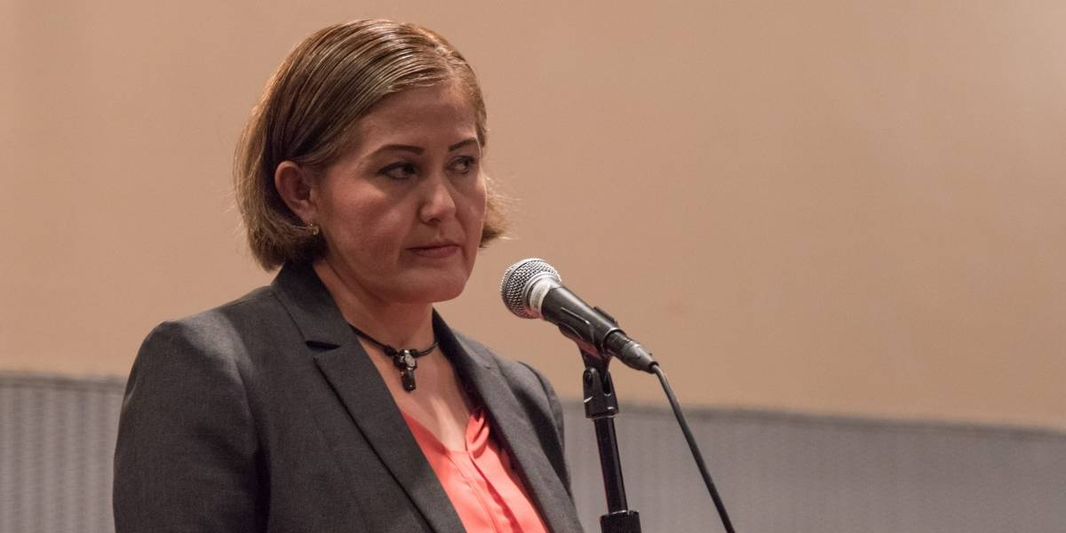Acusa Eva Cadena que su desafuero es por cuestiones políticas